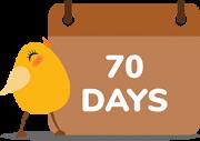 nurture 70 days